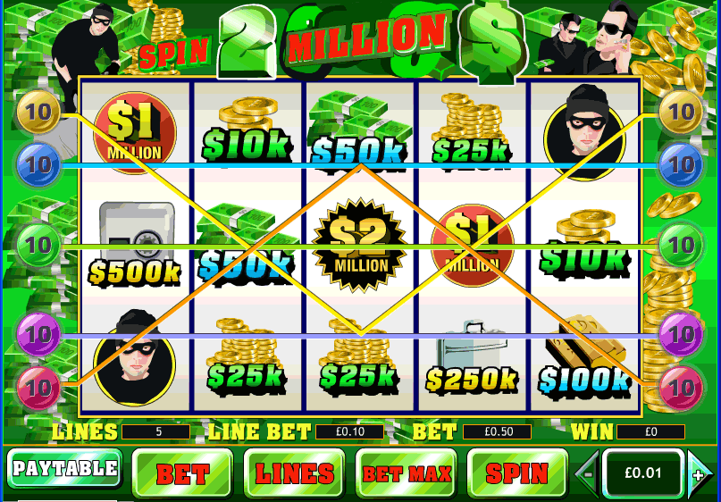 William Hill Spin 2 Million